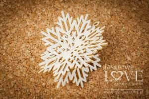 Tekturka - Śnieżynka 3D - Winter Song