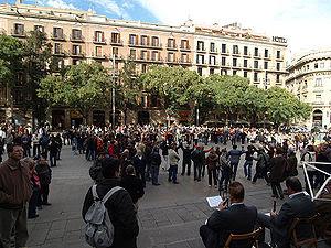 Dance festival in Barcelona