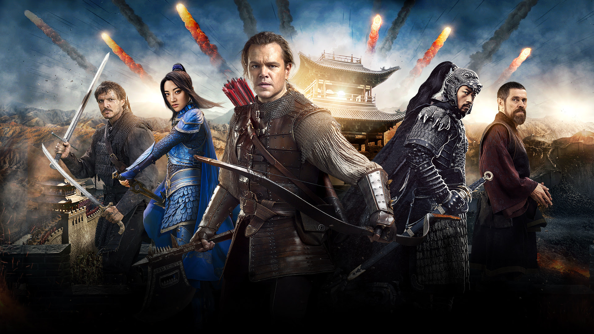 The Great Wall Movie, HD Movies, 4k Wallpapers, Images