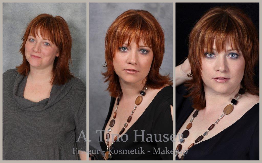 Frisuren Damen Kurz Vorher Nachher Mittellange Haare