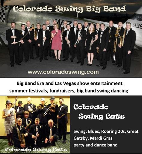 Colorado Swing   live big band music for your dance