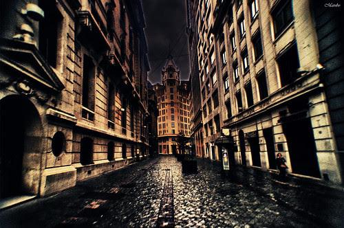 Calle Nueva York HDR by Alejandro Bonilla