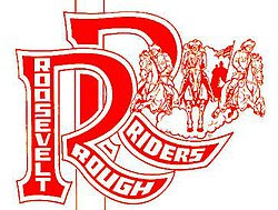 Roosevelt High School Rough Riders Logo