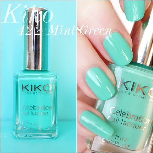 Kiko_polish_422_mint_green