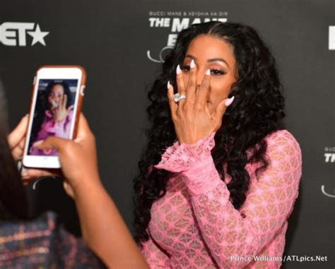Keyshia Ka?oir Hosts ?Toast To The Mane Event? (PHOTOS