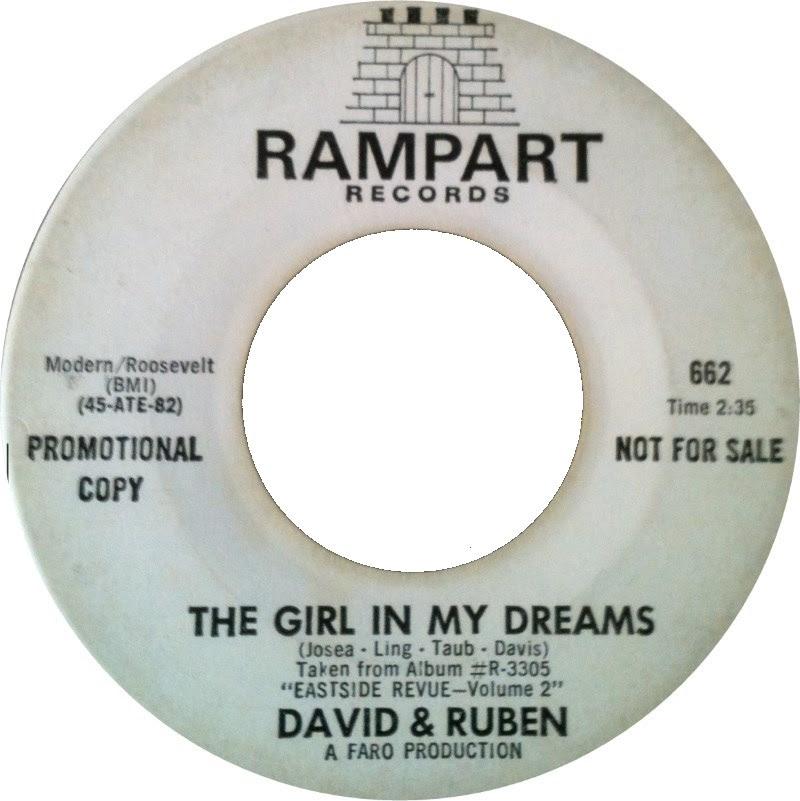 45cat David And Ruben The Girl In My Dreams I Love Her So