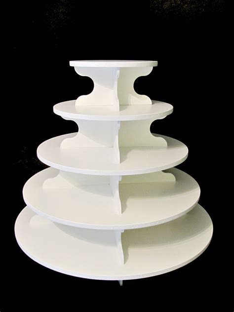 Large Cupcake Stands. 5 Tiers Large Acrylic Wedding