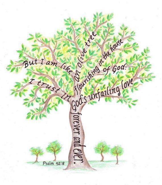 [Graphic of a tree with a Scripture verse superimposed]