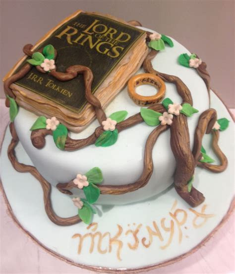 Lord of the rings cake   Young at heart!   Pinterest