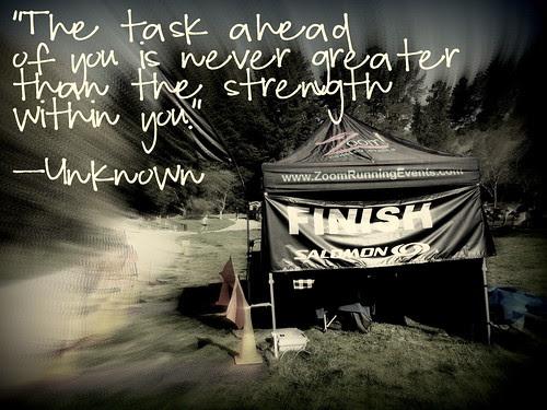 finish line quote