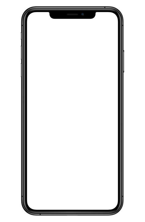 apple iphone xs transparent mobile   searchpngcom
