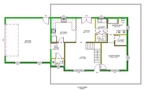 autocad house floor plan professional floor plan autocad