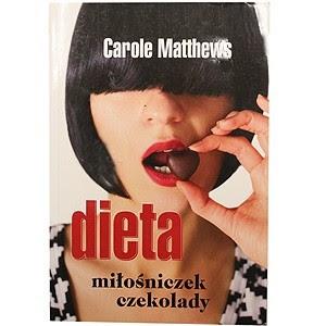 Okładka książki Dieta miłośniczek czekolady.