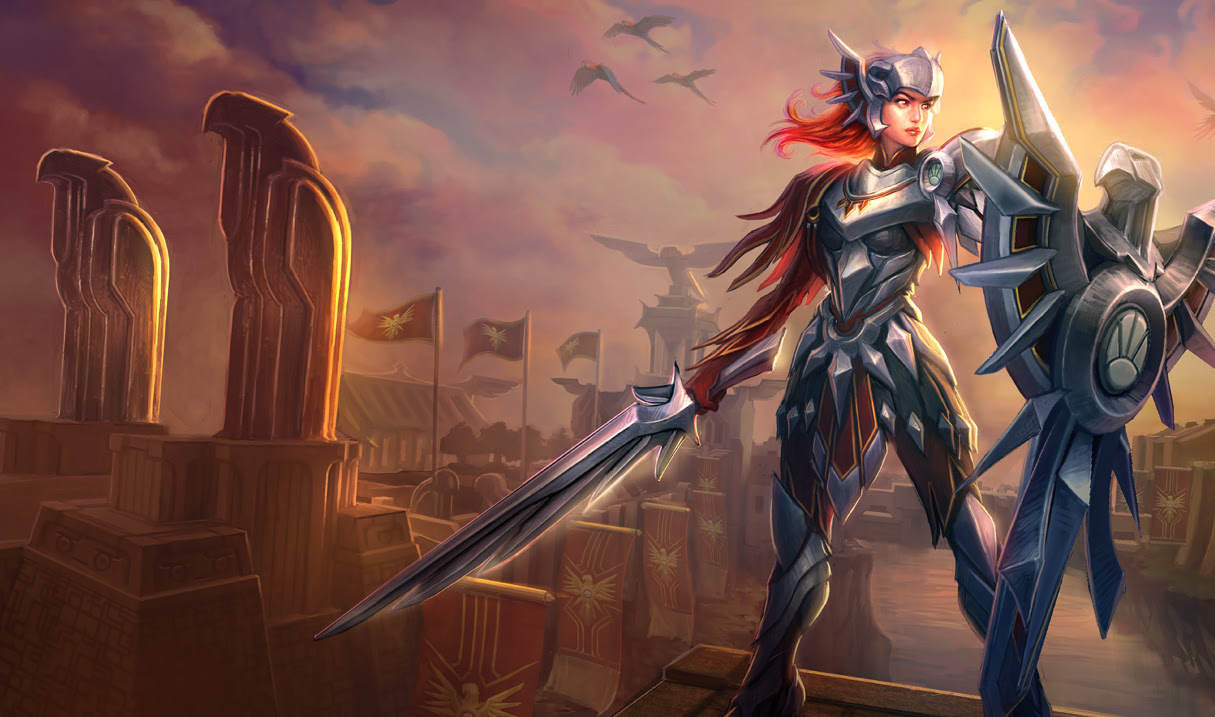 Leona League Of Legends Wallpapers