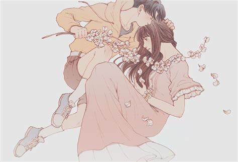 kobayashi rin tumblr hien dai nam nu anime art