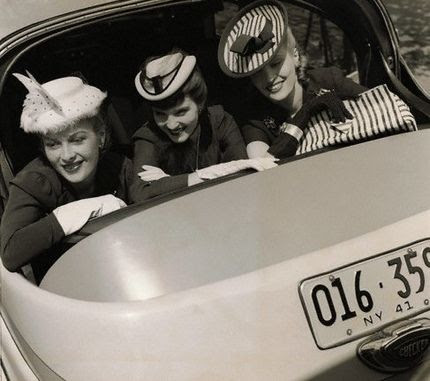 Love the hats, 1941