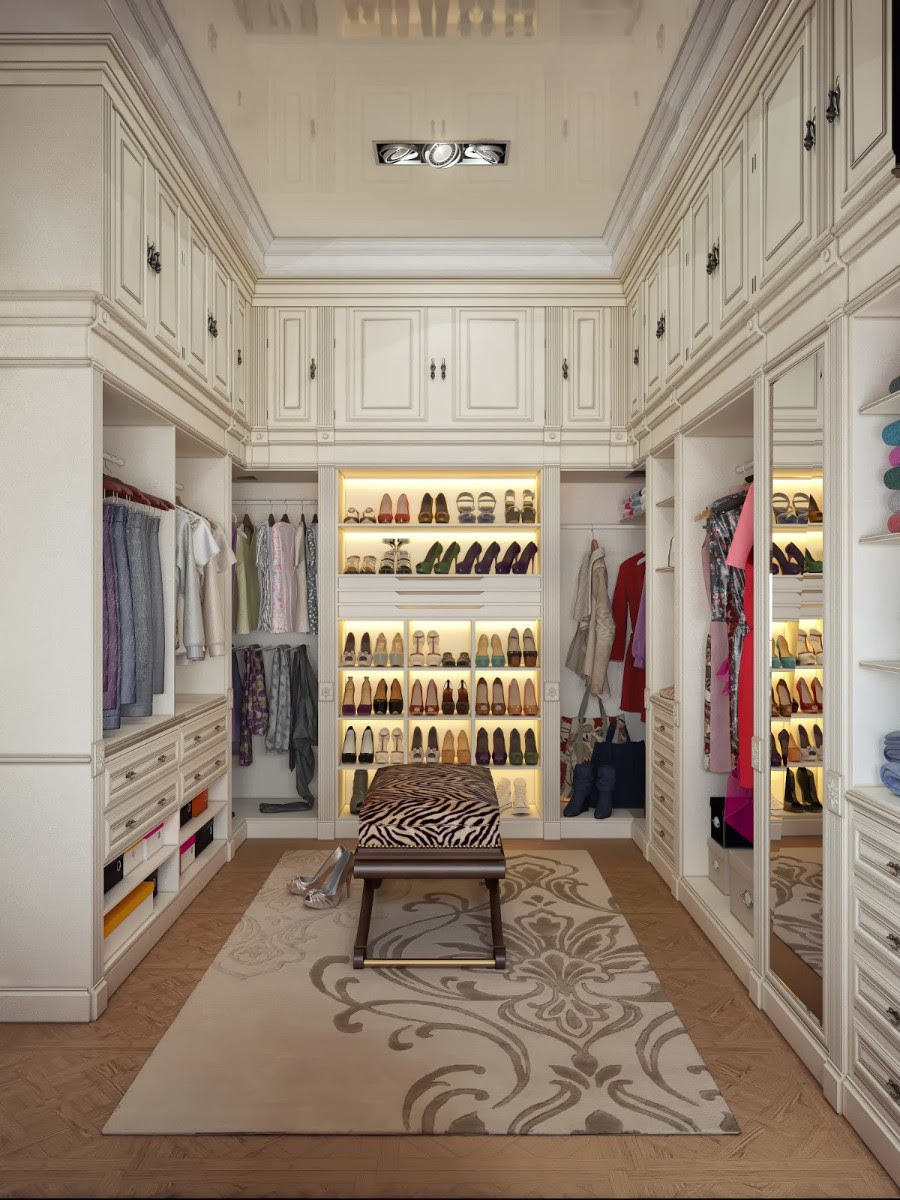 30 Walk In Closet Designs For Luxury Homes