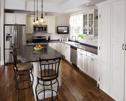 L Shaped Kitchen Layouts Home Design Ideas, Pictures, Remodel and Decor