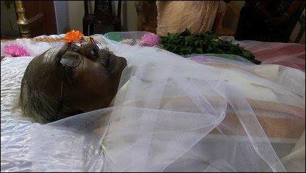 Funeral of Maamanithar S.T. Arasu