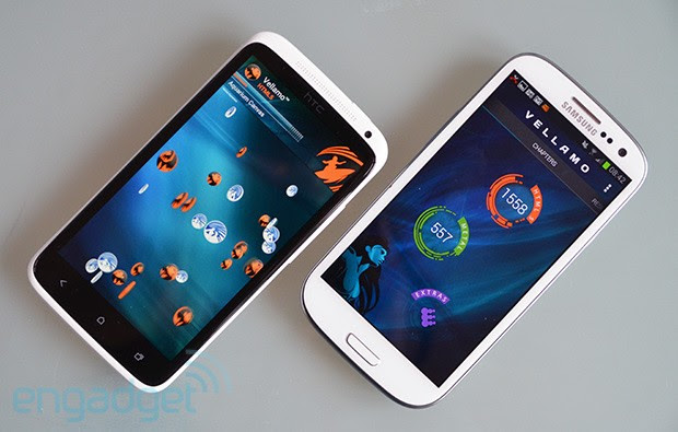 Vellamo benchmark updated to tests CPU and memory, here's how it rates the One X and GS III