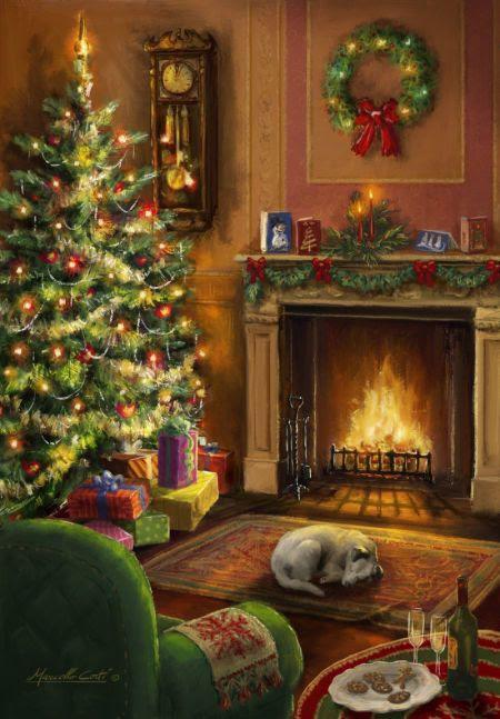 Marcello Corti - Christmas-interior More