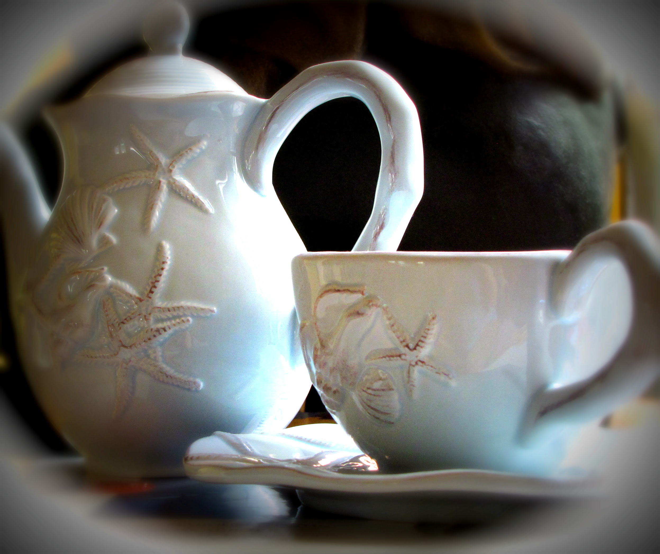 Shell Tea Set