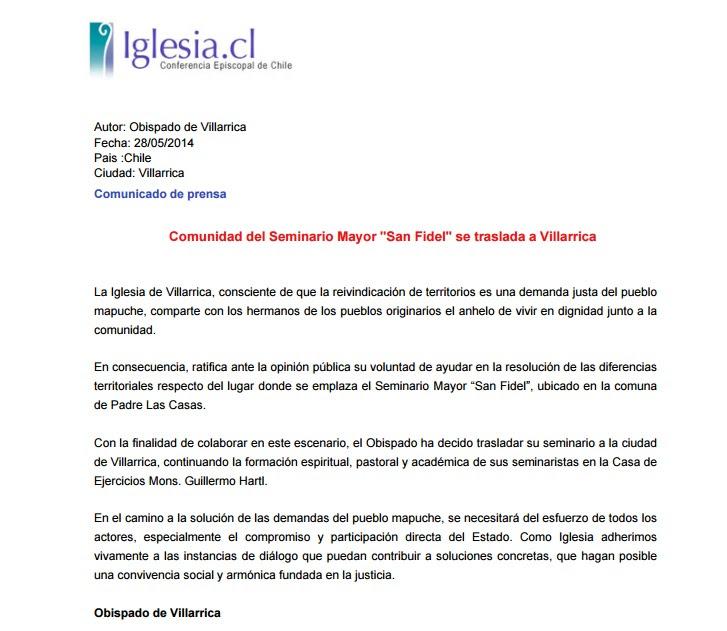 OBISPADO VILLARRICA