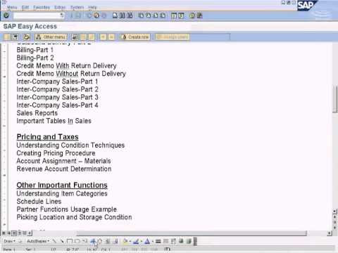 SAP SD - Sales Reports - YouTube