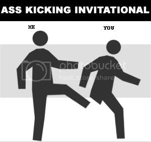one legged man in ass kicking contest most likely lose