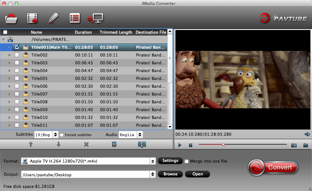 Import 4K XAVC S videos.