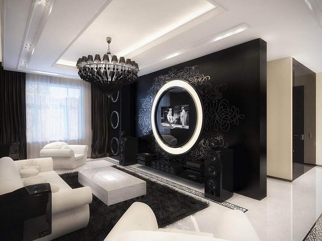 Black and White Themed Bedroom - Decor IdeasDecor Ideas