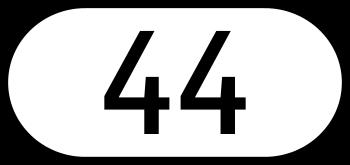 Deutsch: Schild der Landesstraße 44 in Österreich
