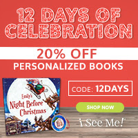 12 Days of Santa- 20% off at ISeeMe!