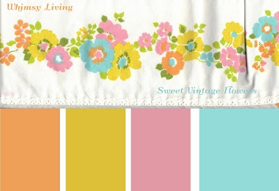 Sweet Vintage Colors @ Whimsy Living