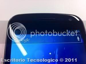 Samsung Galaxy Nexus GT-I9250 (2) - Parlante y camara
