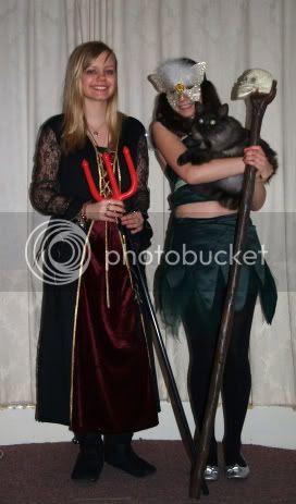 Kerri Angelica & Pagan Halloween 2010