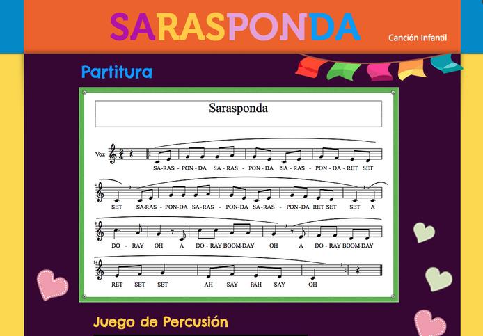 http://mariajesusmusica.wix.com/sarasponda