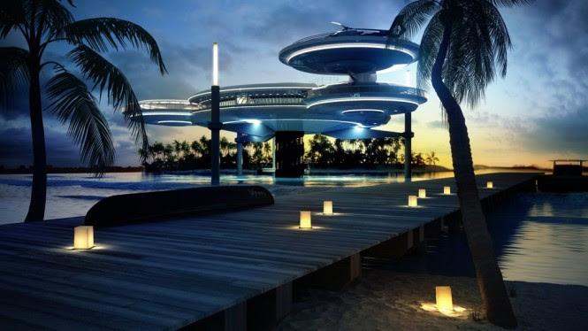 The Water Discus Underwater Hotel