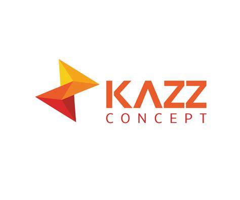 bold modern  company logo design  kazz concept