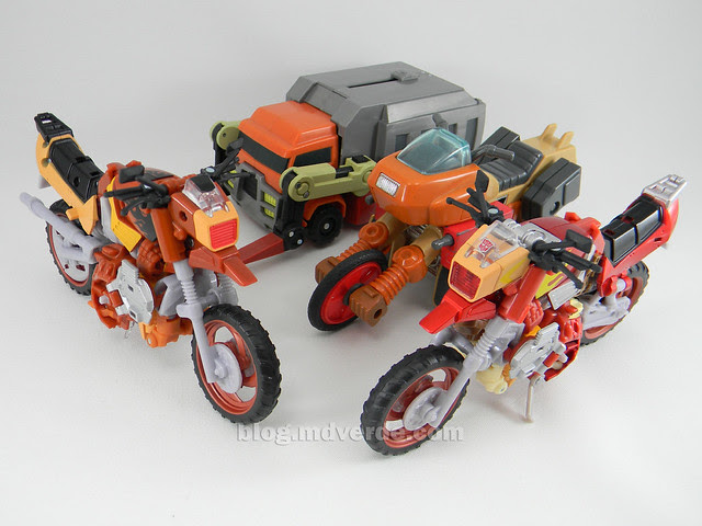 Transformers Wreck-Gar United Deluxe - modo alterno vs RTS vs Animated vs G1