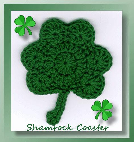 Shamrock Coaster