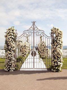 Wrought Iron Garden Gate Decor   weddings   Pinterest