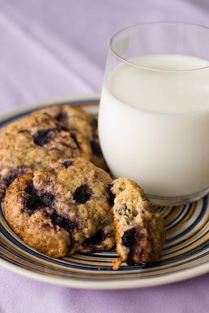 Mustikaküpsised / Blueberry cookies