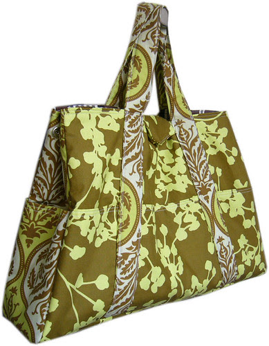Bag with Amy Butler's and Joel Dewberry's fabric