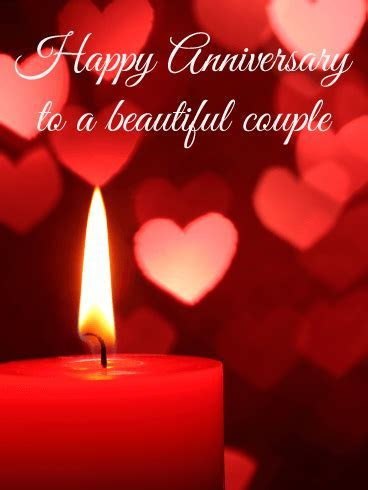 What a Romantic Night   Happy Anniversary Card   Birthday