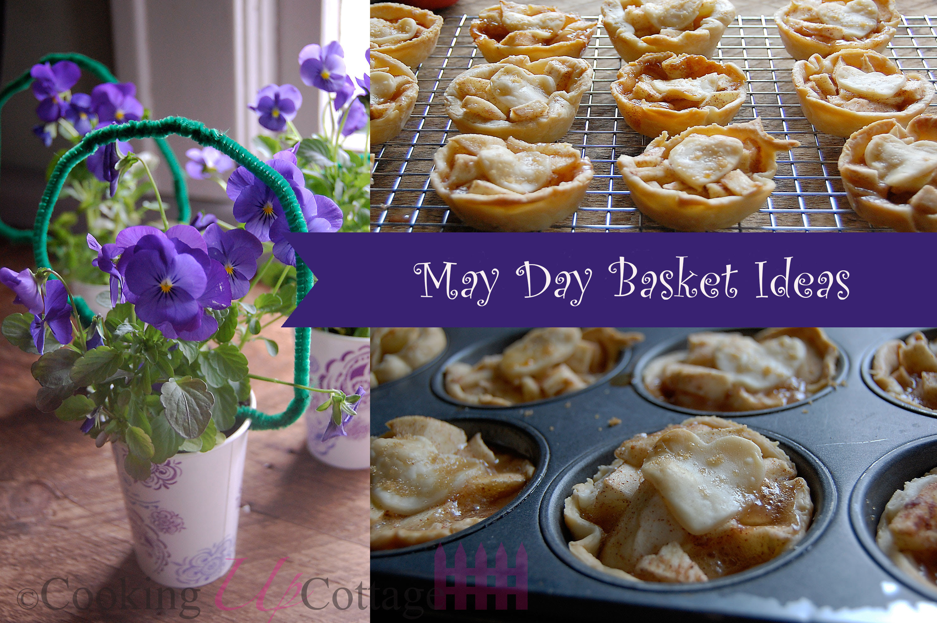 May Day Basket Ideas Cooking Up Cottage