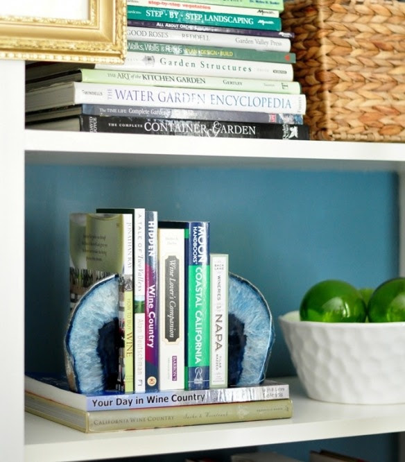 Blue Agate Bookends - HomeGoods