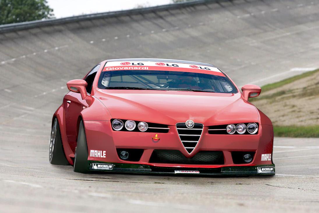 Alfa Romeo Brera WTCC by Vipervelocity on DeviantArt