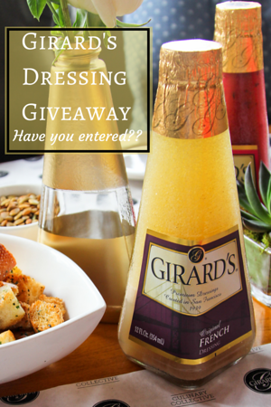 Girard's Dressing Giveaway