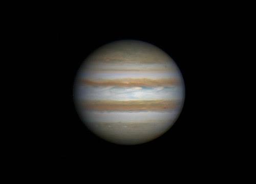 Jupiter RRGB 010314 - 18:41UTC by Mick Hyde